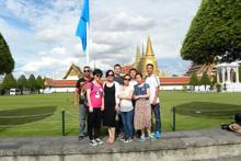 泰国第一批旅游