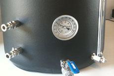 热水炉温度计定制案例