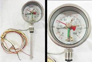 电接点带警报双金属温度计成功案例