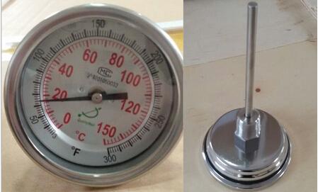 T300C-150C双金属温度计用在电力上的成功案例