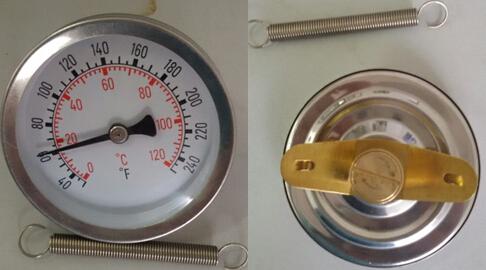 单磁铁表面温度计成功案例