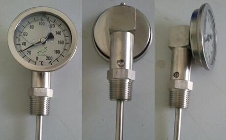 双金属充油温度计I221成功案例