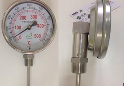 500C双金属温度计成交案例