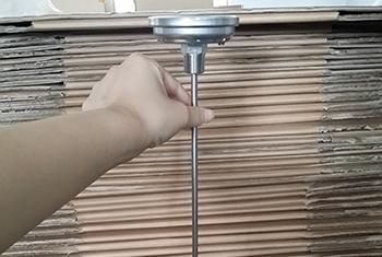 超长探杆双金属温度计成功案例