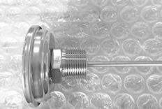 1寸NPT特殊螺纹双金属温度计定制