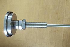 带螺母固定双金属温度计成功案例