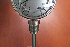 M27X2可动外螺纹双金属温度计成功案例