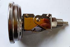 超短探杆定制款太阳能电子温度计