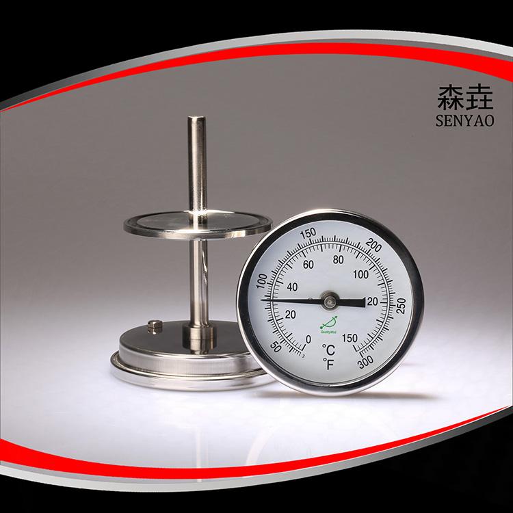 卫生型卡盘双金属温度计  型号:T400CF