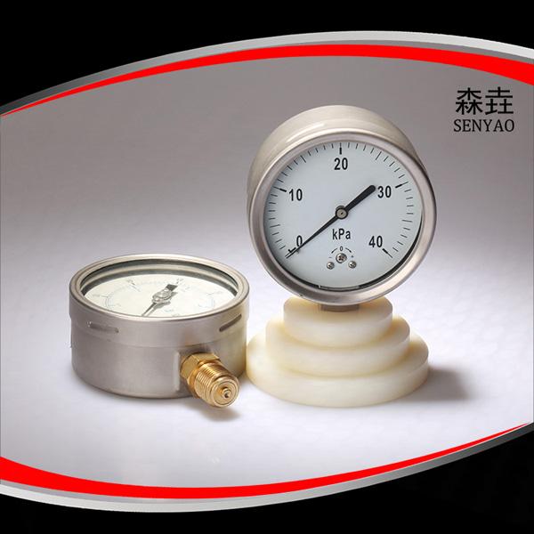 径向半(全)钢微压表  型号:221LVA(B)AD