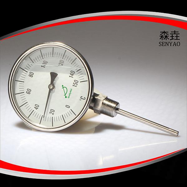 充油双金属温度计 型号:LFI400