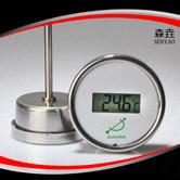 轴向全不锈钢电子温度计 型号:DGTT300