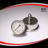 轴向全钢充油压力表 型号:PG221BHNCGS