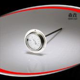 带后法兰双金属温度计 型号:T221F