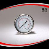 偏心轴向充油压力表 型号:PG400BLNEGD