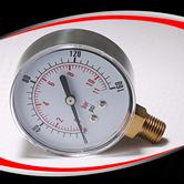 径向半钢干式普通压力表 型号:EPG221AVNNP