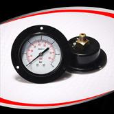 轴向带法兰压力表 型号:EPG221DHFPG