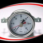 带U型夹差压压力表 型号:EPG221BHUCG