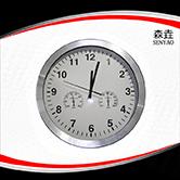 3合1温湿度钟 型号:300mmAl