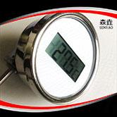 万向全不锈钢电子温度计 型号:DGTA300